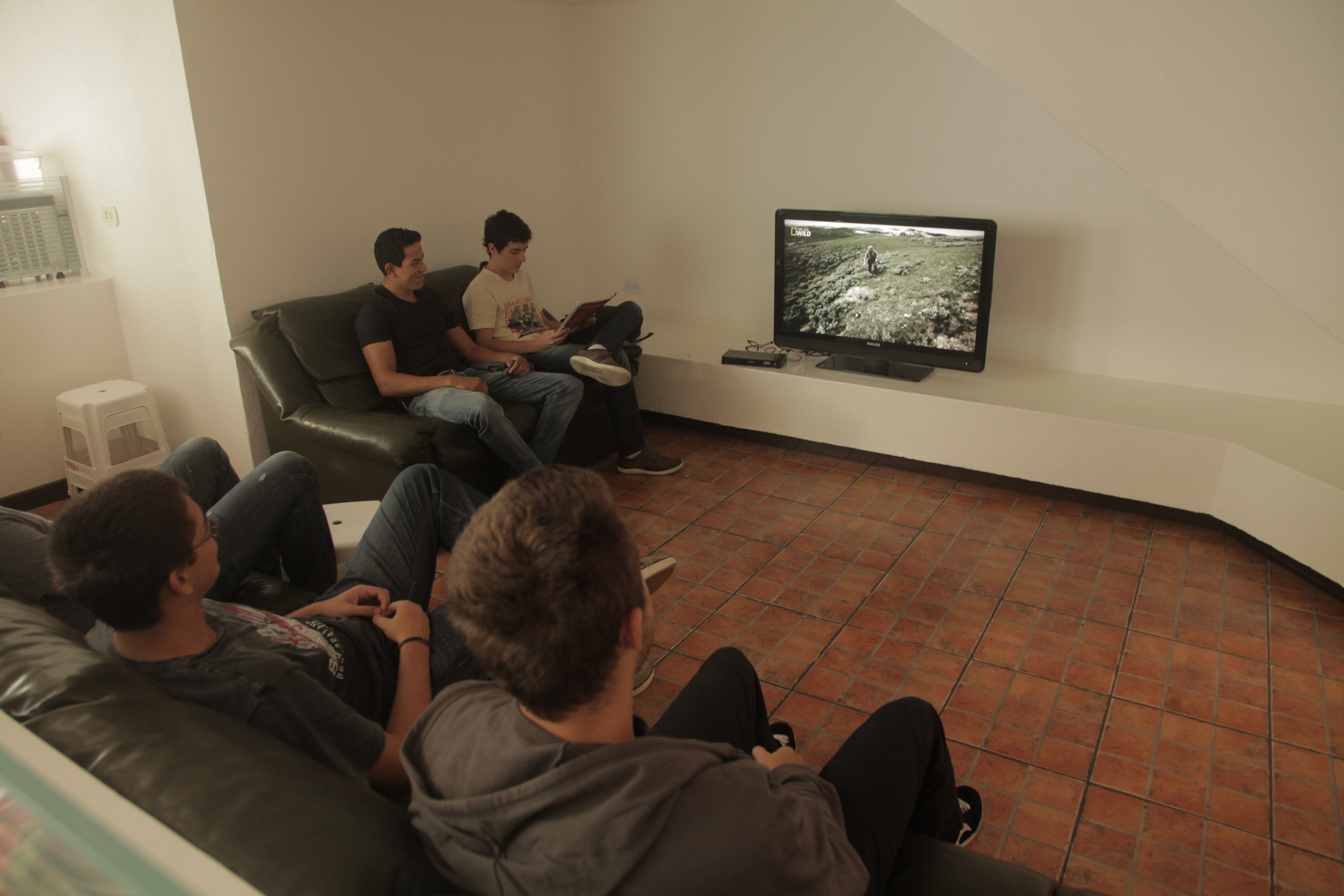 Sala de TV - Pensionato Giorgios